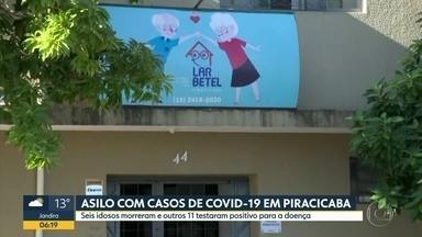 Seis idosos morreram em asilo de Piracicaba com a Covid-19 - Outros 11 idosos testaram positivo.