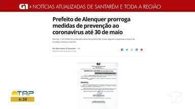 Confira o destaque do G1 Santarém e região - Acesse o portal de notícias da região.
