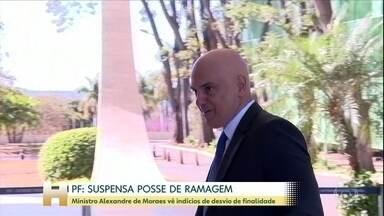 Ministro do STF suspende nomeação de Alexandre Ramagem para o cargo de diretor-geral da PF - Alexandre de Moraes viu indício de desvio de finalidade na escolha do delegado, que é próximo da família Bolsonaro.