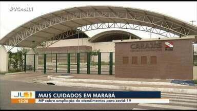 MPPA pede a instalação de 9 respiradores em leitos do hospital de campanha de Marabá - MPPA pede a instalação de 9 respiradores em leitos do hospital de campanha de Marabá