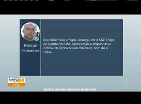 Confira as mensagens enviadas pelos telespectadores do MG1 (Parte 1) - Carlos Albuquerque e André Guimarães leem as mensagens enviadas pelos telespectadores no WhatsApp.
