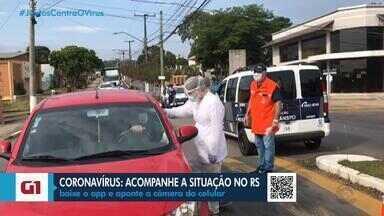 Coronavírus já atinge 136 municípios no RS - Aumento no número de casos mostra que vírus está traçando novas rotas.