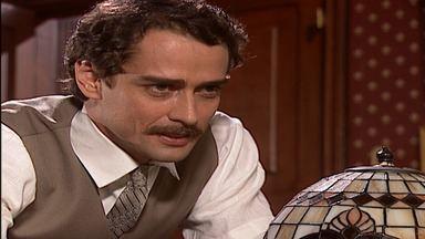 Capítulo 3 - Janete se incomoda com a presença de Giuliana em sua casa. Gumercindo não aprova desejo de Angélica de ser freira. Os italianos chegam na fazenda de Gumercindo e ficam na senzala.