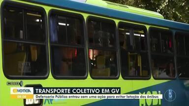 Defensoria Pública pede mudanças no transporte coletivo de Governador Valadares - Aglomeração de pessoas nos ônibus e nos pontos chamou atenção do órgão.