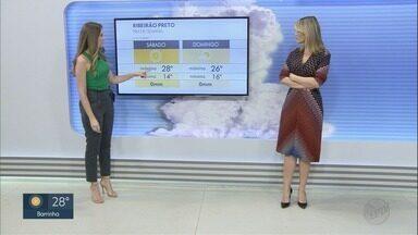 Região de Ribeirão Preto terá tempo quente e sem chuva no fim de semana - Confira a previsão do tempo completa desta sexta-feira (1).