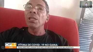 Família de vítima de covid-19 reclama que não foi avisada sobre diagnóstico. - Dona Júlia, de 89 anos, não teve o caixão lacrado e recebeu velório convencional.