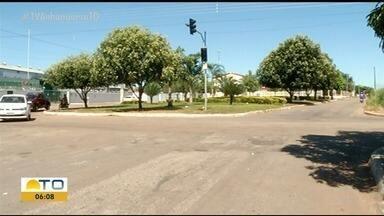 Semáforos que estão sem funcionar em Gurupi confundem e preocupam motoristas - Semáforos que estão sem funcionar em Gurupi confundem e preocupam motoristas