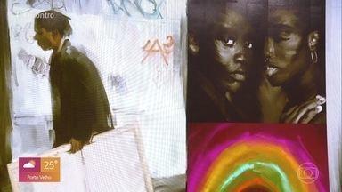 Telão do Encontro: Uno de Oliveira - Confira algumas das obras do artista