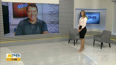 Kako Marques traz as notícias do esporte paraibano no Bom Dia Paraíba desta segunda-feira. - Confira o que é destaque no esporte da Paraíba na edição desta segunda-feira (04.05.2020) do BDPB.