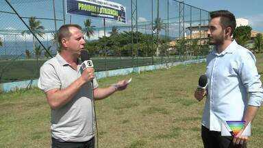 Prefeitura de Caraguatatuba desativa quadras públicas para evitar aglomerações - Medida é para frear disseminação do coronavírus.