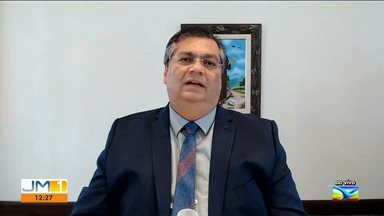 Governador diz que período do lockdown será mais rigoroso na Grande Ilha de São Luís - Flávio Dino concedeu entrevista ao JMTV 1ª edição.