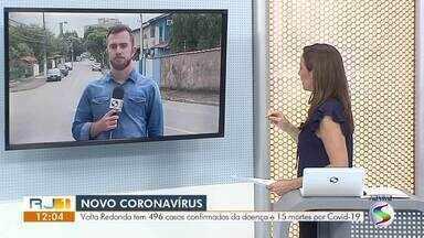 RJ1 atualiza casos de coronavírus no Sul do Rio - Número de infectados chega a 496 em Volta Redonda. Três Rios registrou 51 casos de Covid-19.