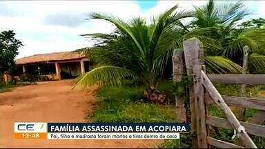 Família é assassinada dentro de casa em Acopiara - Saiba mais em g1.com.br/ce