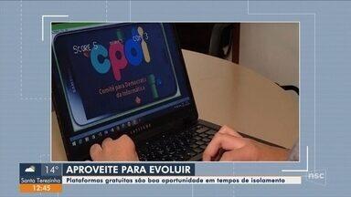 Mário Motta indica plataformas gratuitas com oportunidades de cursos gratuitos - Mário Motta indica plataformas gratuitas com oportunidades de cursos gratuitos