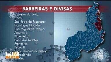 Governo instala barreiras sanitárias nas divisas do Piauí com estados vizinhos - Governo instala barreiras sanitárias nas divisas do Piauí com estados vizinhos