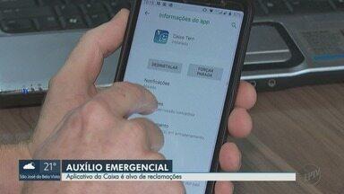 Aplicativo da Caixa é alvo de reclamação por usuários na região de Ribeirão Preto - Ferramenta é usada para solicitar o benefício do Auxílio Emergencial de R$ 600.