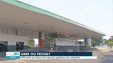 MPE entra na Justiça para garantir reabertura da rodoviária de Corumbá - MPE entra na Justiça para garantir reabertura da rodoviária de Corumbá