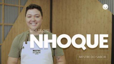 Chef Júnior Marinho dá dica de nhoque sem erro - Participante do 'Mestre do Sabor' ensina como fazer prato que o levou ao programa