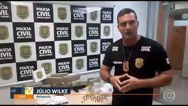 Polícia prende homem e apreende drogas e armas, no bairro Confisco - Suspeito é conhecido por ser um dos chefes do tráfico de drogas no bairro Comerciários, Região de Venda Nova.
