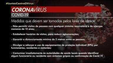 Governo do RS define regras de segurança para lares de idosos devido ao coronavírus - Assista ao vídeo.