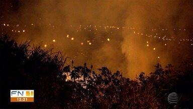 Incêndios têm sido frequentes em cidades do Oeste Paulista - Queimadas são bastante recorrentes em toda a região de Presidente Prudente.