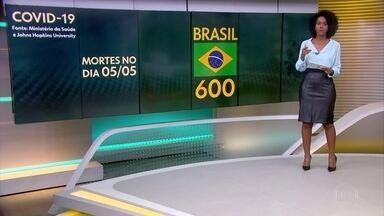 Brasil passa de 8 mil mortes, segundo secretarias; só ontem foram confirmadas 600 mortes - O número de infectados passa de 117 mil, segundo levantamento do G1 com dados da secretarias.