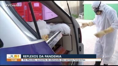 Marabá enfrenta sobrecarga de demanda no sistema funerário - Marabá enfrenta sobrecarga de demanda no sistema funerário