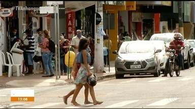 Gurupi terá revezamento de setores do comércio para reduzir número de pessoas nas ruas - Gurupi terá revezamento de setores do comércio para reduzir número de pessoas nas ruas