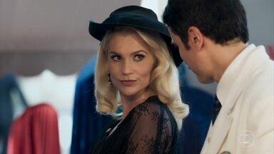 Sandra não aceita os presentes de Ernesto - O malandro reconhece Severo e o deixa em saia justa na frente de Osório