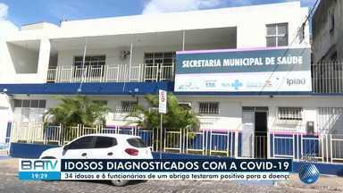 34 idosos e 6 funcionários de um abrigo em Ipiaú testam positivo para coronavírus - Em Ilhéus, outro abrigo também tem idosos infectados. Um paciente morreu pela doença nesta quarta-feira (6).