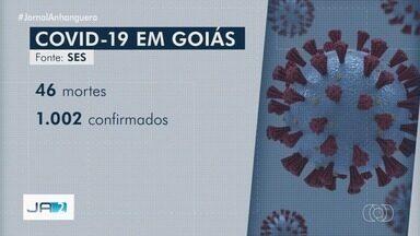 Goiás ultrapassa 1 mil casos confirmados e tem 46 mortes por coronavírus, diz Caiado - Esse foi o maior aumento do número de casos em 24h no estado, pois balanço anterior tinha 922 registros. Governador disse que está preocupado com o avanço do novo vírus sobre 68 dos 246 municípios goianos.