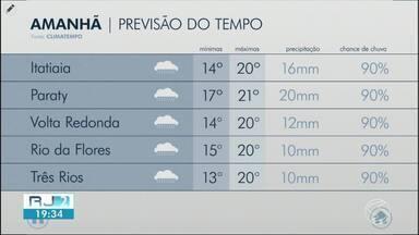 Meteorologia prevê queda das temperaturas no Sul do Rio - Tempo esfria por conta de uma massa de ar frio que passa pela região.