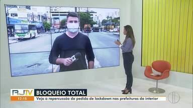 Prefeituras das maiores cidades do interior do Rio falam sobre o Lockdown - Município de Campos, RJ, comenta sobre medida de confinamento total.