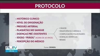 Governo deve publicar protocolo que ajuda médico a escolher qual paciente terá vaga na UTI - Protocolo será publicado pela Governadoria do estado do Rio de Janeiro. Data da publicação em Diário Oficial ainda não foi informada.