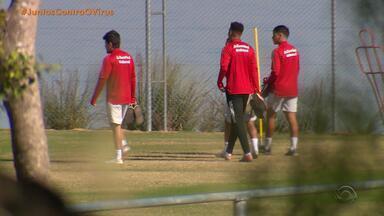 Treinador físico do Inter diz que jogadores seguem com condicionamento físico - Assista ao vídeo.