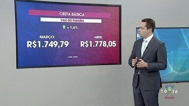 Cesta básica fica mais cara no Vale do Paraíba, aponta pesquisa - Confira reportagem do Jornal Vanguarda desta sexta-feira (8).