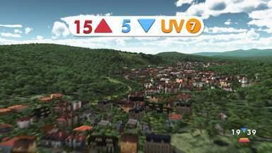Confira a previsão do tempo para este sábado, 9, na região - Confira reportagem do Jornal Vanguarda desta sexta-feira (8).