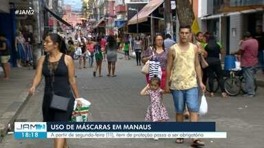Véspera do Dia das Mães movimenta comércio em Manaus - Data comemorativa levou muita gente às ruas da capital