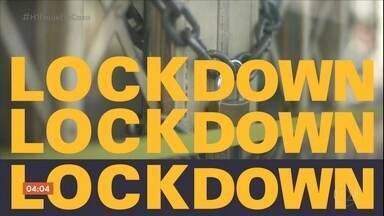 Saiba qual a diferença entre lockdown e distanciamento social - A medida foi tomada para frear o contágio do coronavírus. Lockdown é a versão mais rígida do distanciamento social obrigatório.