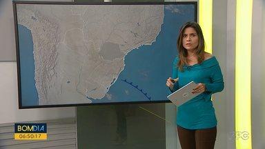 Semana começa com tempo firme no Paraná - Temperaturas estão baixas nas cidades da metade sul do estado.