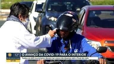 Coronavirus deve atingir a todos os municípios de SP até o final de maio, projeta governo - Doença avança com novos casos registrados no interior do estado