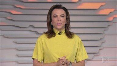 Bom dia Brasil - Edição de segunda-feira, 11/05/2020 - O telejornal, com apresentação de Chico Pinheiro e Ana Paula Araújo, exibe as primeiras notícias do dia no Brasil e no mundo e repercute os fatos mais relevantes.