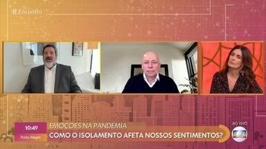 Leandro Karnal e Mario Sergio Cortella falam da transformação da sociedade pelo sofrimento - Os dois lançaram o livro 'Viver, a que se destina?' durante a pandemia