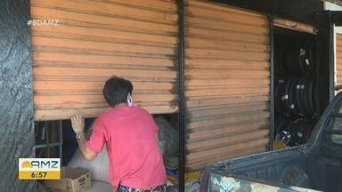 Prefeitura de Parintins, no AM, endurece medidas de combate a Covid-19 - Alguns comércios precisaram ser fechados.