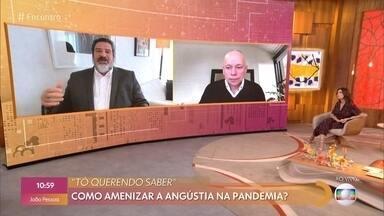 Leandro Karnal e Mario Sergio Cortella respondem a perguntas dos telespectadores - Confira o 'Tô Querendo Saber Virtual'