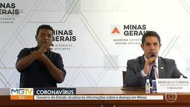 Secretaria de Saúde atualiza situação da Covid-19 em Minas - Equipe dá coletiva na Cidade Administrativa, em BH, e mostra como está o avanço da doença no Estado.