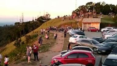 Pico do Urubu, em Mogi das Cruzes, volta a ter aglomerações no fim de semana - Paulo Roberto Madureira Sales, secretário de segurança de Mogi Das Cruzes, fala sobre fiscalização no local.