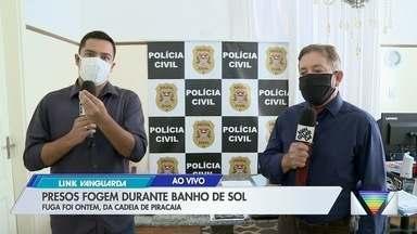 Sete presos fogem da cadeia de Piracaia neste domingo - Polícia faz buscas na região para recapturar os foragidos