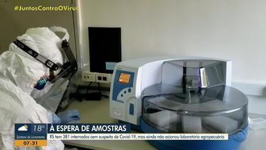 Laboratório de defesa agropecuária em Porto Alegre pode realizar testes de coronavírus - Local tem insumos e profissionais à disposição para as testagens.