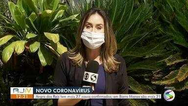 RJ1 atualiza casos de coronavírus no Sul do Rio de Janeiro - Confira como está a situação da pandemia nas cidades da região.